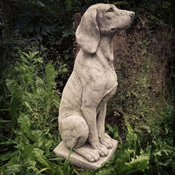 Small Image of Hound Stone Ornament