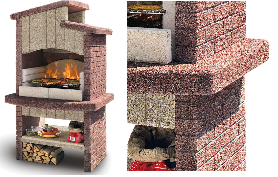 Xlandscape area landscaping ideas backyard 4 burner grill - Barbecue esterno design ...