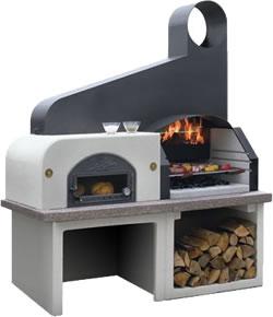 palazzatti masonry barbecue and pizza oven maxime 3 garden4less uk. Black Bedroom Furniture Sets. Home Design Ideas