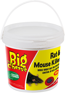 Image of Big Cheese Rat and Mouse Killer 400g