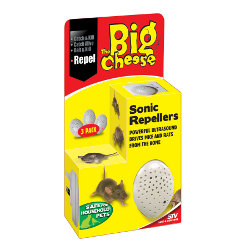 Image of Big Cheese Sonic Repellers - Triple Pack