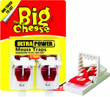 Image of Big Cheese Ultra Power Mouse Traps - Twinpack
