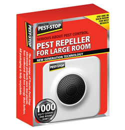 Image of Electronic Pest Control - Single Large Room Pest Repeller