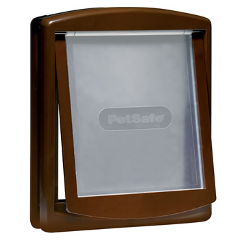 Image of Petsafe Staywell Original 2-Way Pet Door - Large Brown