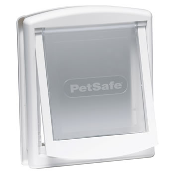 Image of Petsafe Staywell Original 2-Way Pet Door - Small White