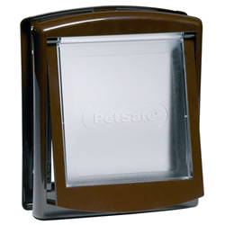 Small Image of Petsafe Staywell Original 2-Way Pet Door - Small Brown
