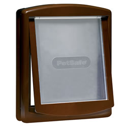 Small Image of Petsafe Staywell Original 2-Way Pet Door - Large Brown