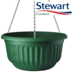 Corinthian Hanging Basket - Dark Green