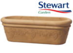 Small Image of Grapes Sandstone Trough Garden Planter - 80 cm