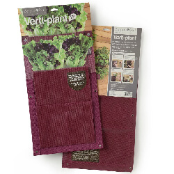 Small Image of 2 Vertical Planter Bags Burgon & Ball - Aubergine