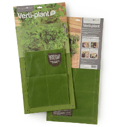 Image of 2 Vertical Planter Bags Burgon & Ball - Green