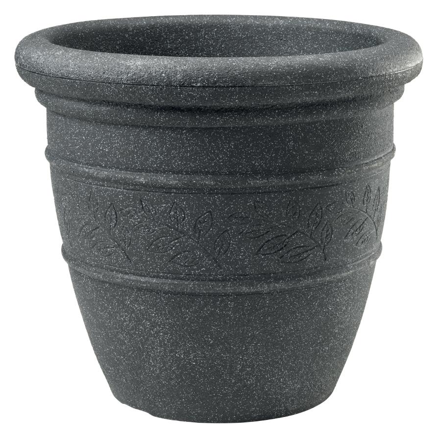Sylvan Granite Effect Bell Pot Garden Planter 48cm 163 21