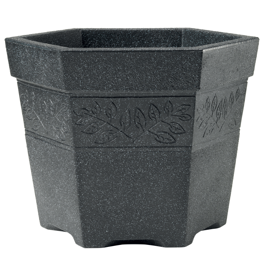 hexagonal garden planter 45 cm garden4less uk shop