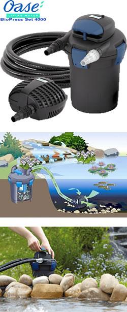 oase pond filter biopress set 4000 garden4less uk shop. Black Bedroom Furniture Sets. Home Design Ideas