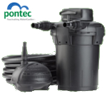 Small Image of PonTec Pond Filter - PondoPress Set 10000 with UVC