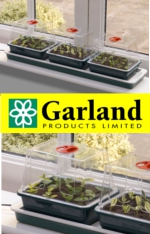 Small Image of Garland Triple Top Windowsill Propagator