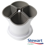 Small Image of Stewart Self Watering Herb Pot - Mocha
