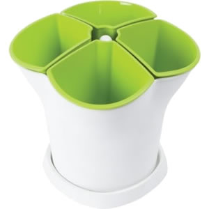 Small Image of Stewart Self Watering Herb Pot
