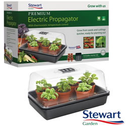 Small Image of 38cm Stewart Premium Thermostatic Controlled Propagator