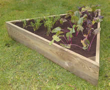 Image of Apollo Pyramid Raised Bed 100cm x 100cm x 20cm