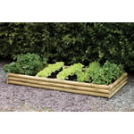 Small Image of Half Log Raised Bed