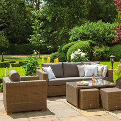 Life Garden Furniture Life outdoor garden furniture rattan garden furniture image of moray garden lounge set from life light browntaupe workwithnaturefo