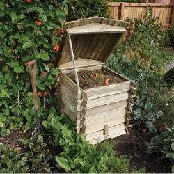 Image of Rowlinson Beehive Wooden Garden Composter