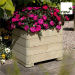 Small Image of Marberry Timber Square Planter