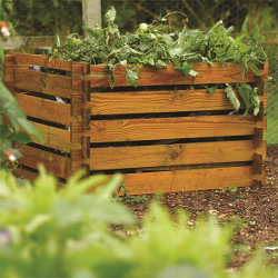 Image of Rowlinson Wooden Garden Composter