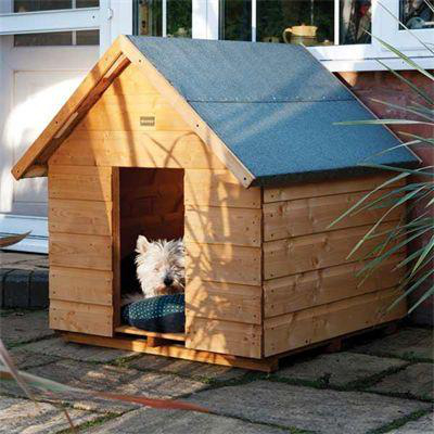 Medium dog kennel gbp11499 garden4less uk shop for Dog houses for medium dogs