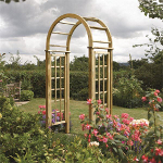 Small Image of Round Top Garden Arch
