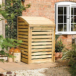 Small Image of Wooden Single Bin Store