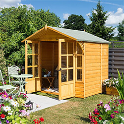 Extra image of Rowlinson 7x7 Eaton Summerhouse
