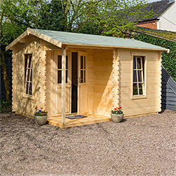 Small Image of Rowlinson Garden Office in a Natural Finish