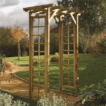 Small Image of Square Top Garden Arch