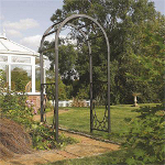 Small Image of Wenbury Round Top Garden Arch