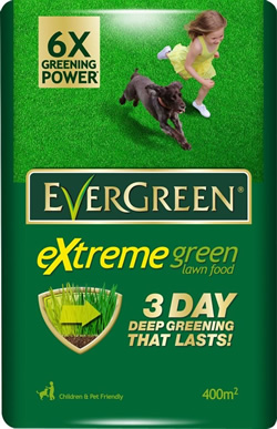 Image of Evergreen Extreme Green Lawn Food -  14kg Bag (400 sq.m)
