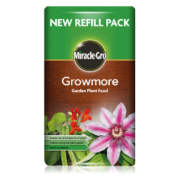 Image of Miracle Gro Growmore Garden Plant Food - 8kg Refill Bag