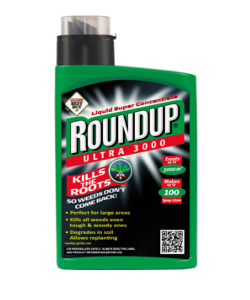 Image of Roundup Ultra Super Concentrate Weedkiller - 3000m² (1L)