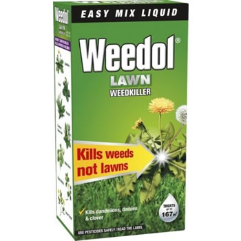 Image of Weedol Liquid Lawn Weedkiller - 250ml (up to 167m²)