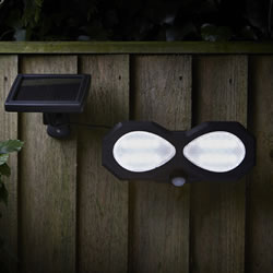Small Image of Super Bright Solar PIR Security Light