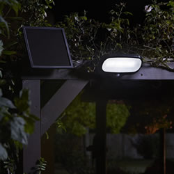 Small Image of Super Bright Solar PIR Security Floodlight