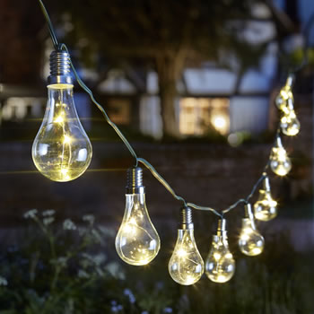 Image of Eureka! Litghbulbs String Lights - Pack of 10