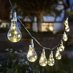 Small Image of Eureka! Litghbulbs String Lights - Pack of 10