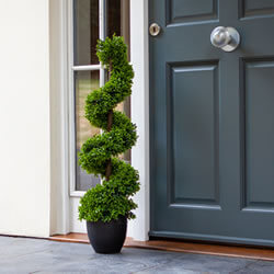 Small Image of Topiary Twirl - 90cm Faux Garden Plant