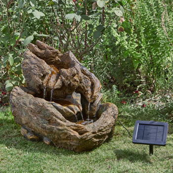 Image of Solar Powered Water Feature - Wychwood Falls
