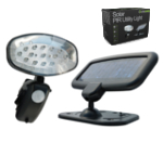 Evo15 Solar Powered PIR Utility Light
