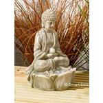Solar Powered Stone Buddha Spotlights