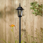 Solar Powered Kingston Lamp Post Light