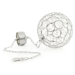 Solar Powered Hanging Crystal Ball Light